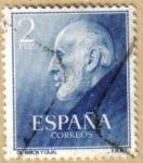 Stamps Spain -  Dtor. RAMON Y CAJAL