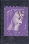 Sellos de Africa - Egipto -  efigie