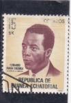 Stamps Equatorial Guinea -  Fernando Nvara Engonga