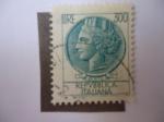 Sellos de Europa - Italia -  Antigua Moneda Siracusana.Scoot/It. 998V.