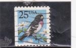 Sellos de America - Estados Unidos -  ave-