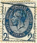 Stamps United Kingdom -  9º Congreso de la U.P.U.