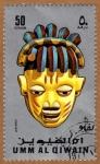 Sellos de Asia - Emiratos Árabes Unidos -  INT-máscara