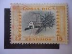Sellos de America - Costa Rica -  Industrias Nacionales - Aceite y Grasas