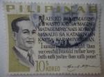 Sellos de America - Filipinas -  Carlos P. Garcia