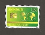 Sellos del Mundo : Europa : Luxemburgo : 100 Aniv. del cheque postal