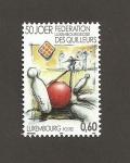 Sellos de Europa - Luxemburgo -  50 Aniiv. de la federación Luxemburguesa de Bolos