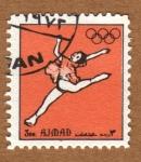Stamps Asia - United Arab Emirates -  COL-BAILARINA DANZA CLÁSICA CON TUTÚ