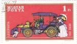 Sellos de Europa - Hungría -  coche de epoca
