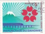 Sellos de Africa - Benin -  exposicion 1970 Osaka