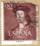 Sellos de Europa - España -  FERNANDO EL CATOLICO