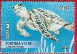 Sellos del Mundo : America : Guatemala : Tortuga Verde