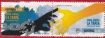 "Stamps : America : Guatemala :  Tema UPAEP ""Lucha contra la trata"""
