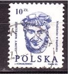 Stamps Poland -  serie- Esculturas de castillos
