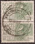 Stamps Mexico -  Arqueología - Chiapas  1950 50 cents