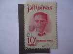 Stamps Philippines -  Mariano Ponce 1863-1918