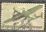 Sellos de America - Estados Unidos -  avión de transporte.