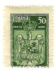 Stamps Romania -  Escudo de armas