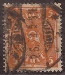 Stamps : Europe : Germany :  Corneta de Posta  1922 5 reichsmark