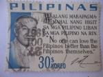 Stamps Philippines -  José P. Laurel.