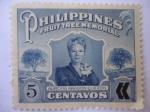 Stamps Philippines -  Aurora Aragon Quezon.