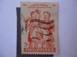 Stamps Philippines -  Golden Jubilee - 1901-1951