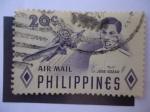 Sellos de Asia - Filipinas -  Lt. Jose Gozar.