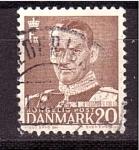 Sellos de Europa - Dinamarca -  Frederik IX