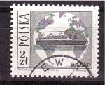 Sellos de Europa - Polonia -  M/S Batory