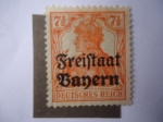 Stamps Germany -  Anna Fúhrring 1866-1929.