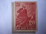 Stamps : Europe : Bulgaria :  Vladimir I. Lenin. 1924-1949
