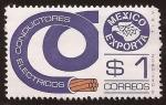 Sellos de America - México -  Conductores Eléctricos - México Exporta  1978 1 peso