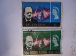 Stamps : Asia : Hong_Kong :  Hong-Kong y St. Vicent