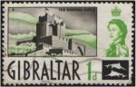 Sellos del Mundo : Europa : Gibraltar : Castillo morisco