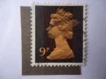 Stamps United Kingdom -  Reina Elizabeth II - Scott/RU:MH68