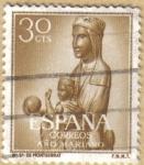 Sellos de Europa - España -  Ntra. Sra. de MONTSERRAT