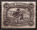 Stamps : America : Germany :  Z-R-III Los Angeles   1924 20$