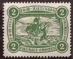 Stamps : America : Germany :  Z-R-III Los Angeles   1924 2$