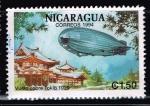 Sellos del Mundo : America : Nicaragua : VUELO SOBRE TOKIO 1929