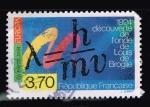 Stamps : Europe : France :    EUROPE 1924 DÉCOUVERTE DE L´ONDE DE LOUIS DE BROGLIE