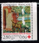 Stamps : Europe : France :  TAPISSERIE D´ARRAS  ST. HAAST