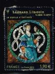 Stamps : Europe : France :  LA SIBYLLE D´ÉRYTHRÉE   LÉONARD LIMOSIN  1505-1575