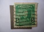 Stamps Costa Rica -  Roosevelt.
