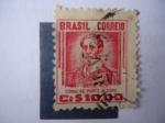 Stamps Brazil -  Conde de Porto Alegre - Cr $ 10,oo