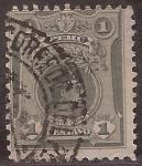 Sellos de America - Perú -  Manco Capac  1909 1 centavo