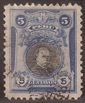 Stamps America - Peru -  Manuel Pardo  1918 5 centavos