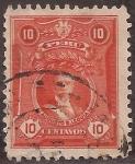 Sellos del Mundo : America : Perú : Augusto B. Leguia  1925 10 centavos
