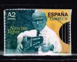 Stamps : Europe : Spain :  PERSONAJES.  NARCISO  YEPES.