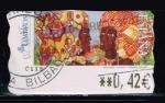 Stamps : Europe : Spain :  AFRICANAS II   MELENDEZ    SAMMMER  GALLERY