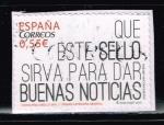 Stamps : Europe : Spain :  ESTE SELLO SIRVA PARA DAR BUENAS NOTICIAS